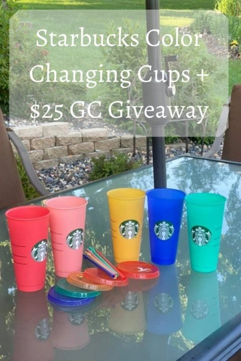 Starbucks Color Changing Cups + $25 GC Giveaway