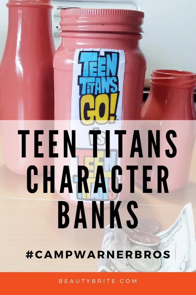 TEEN TITAN GO VS TEEN TITAN CHARACTER BANK! DIY for kids