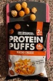 Shrewd Food Protein Puffs Nacho Cheese