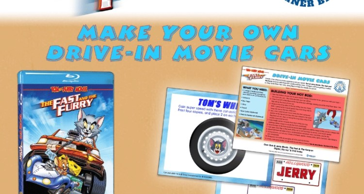 Camp Warner Bros. - Week 7- Make Your Drive-In Movie Cars /Tom & Jerry Movie: The Fast & The Furry