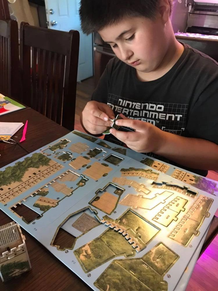 Great Wall of China 3D puzzle