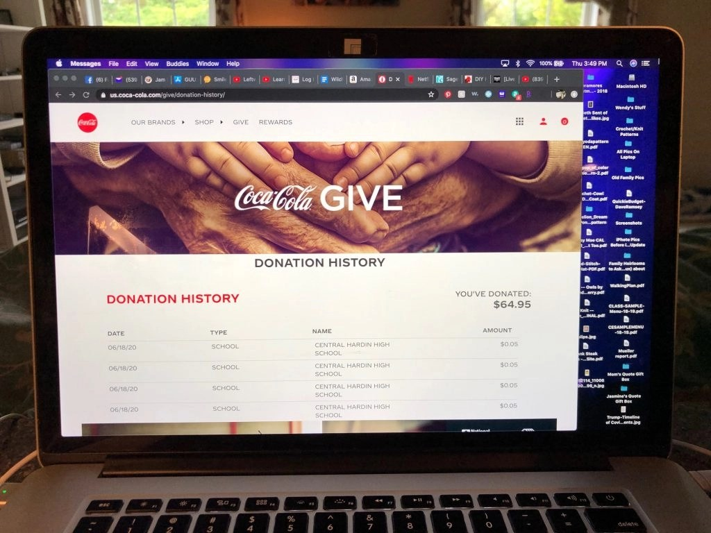 Easy (And Free) Way To Support Your Child's School -- Coca Cola Give Program #beautybrite
