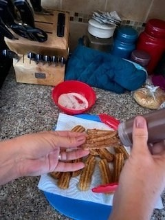 Filling the Churros