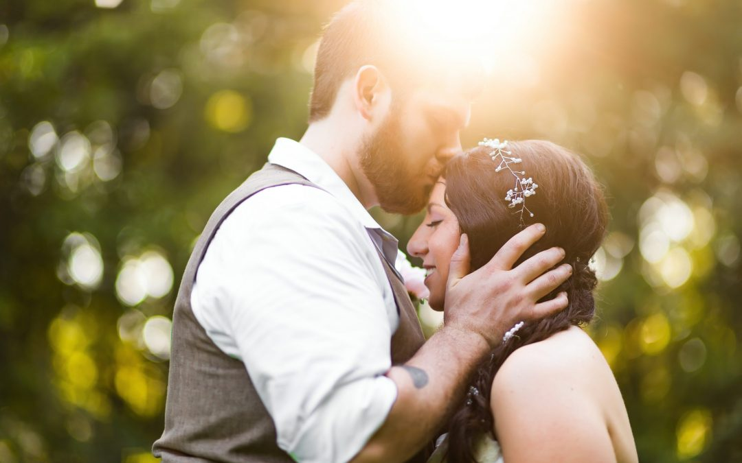 Stephanie & Matt's Intimate Outdoor Wedding