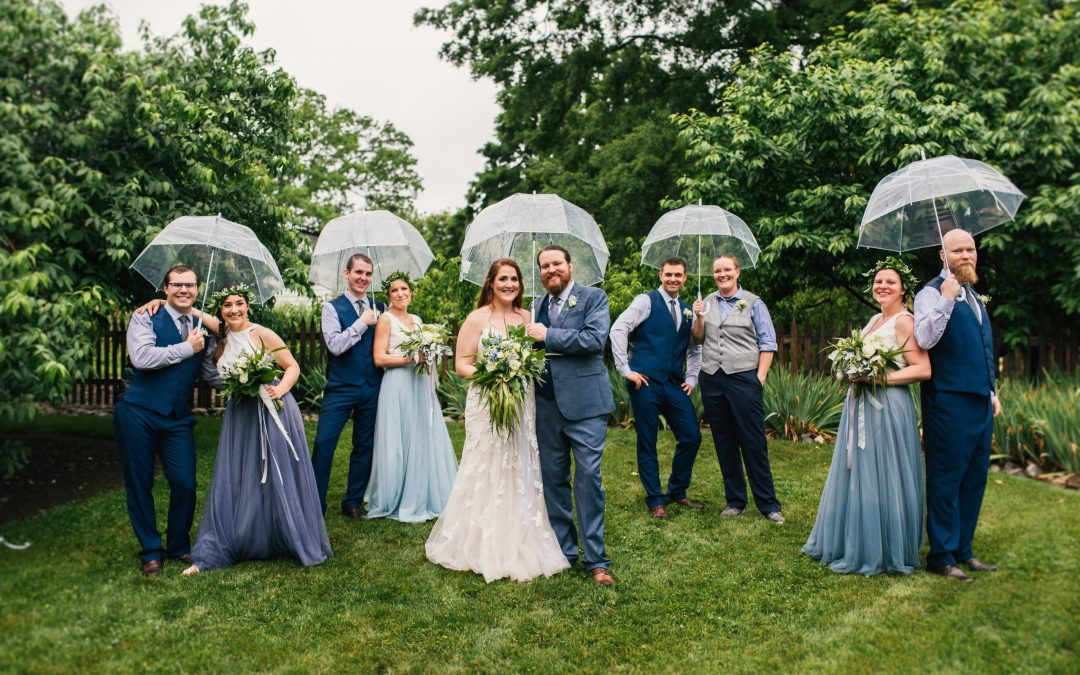 Amanda & Aaron's Beer Garden Wedding