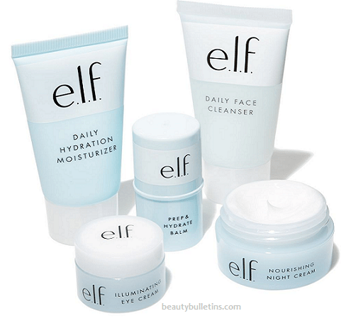 elf- jet set travel skincare