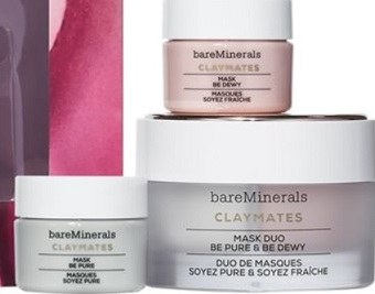 baremi-LOVE TO MASK BE PURE & BE DEWY CLAYMATES MASK SET
