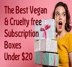 The Best Vegan & Cruelty free Subscription boxes Under Twenty Dollars