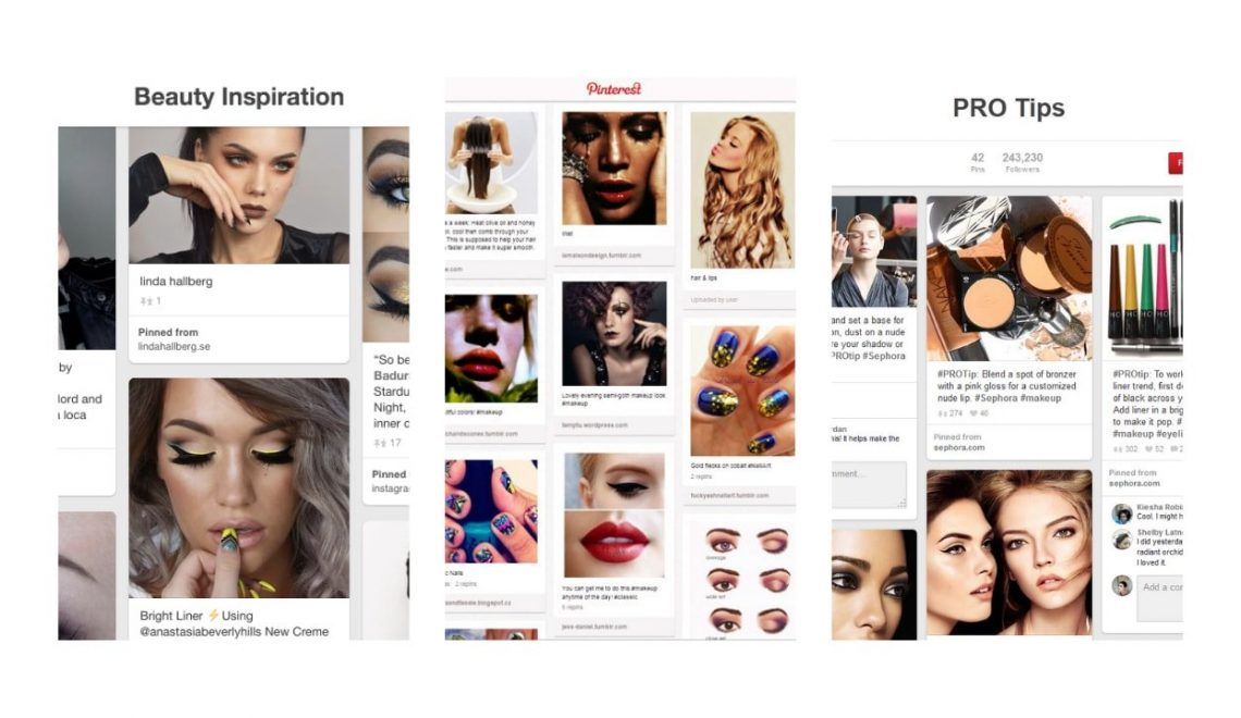 Visual Search; Why Are Beauty Brands Investing In Pinterest?