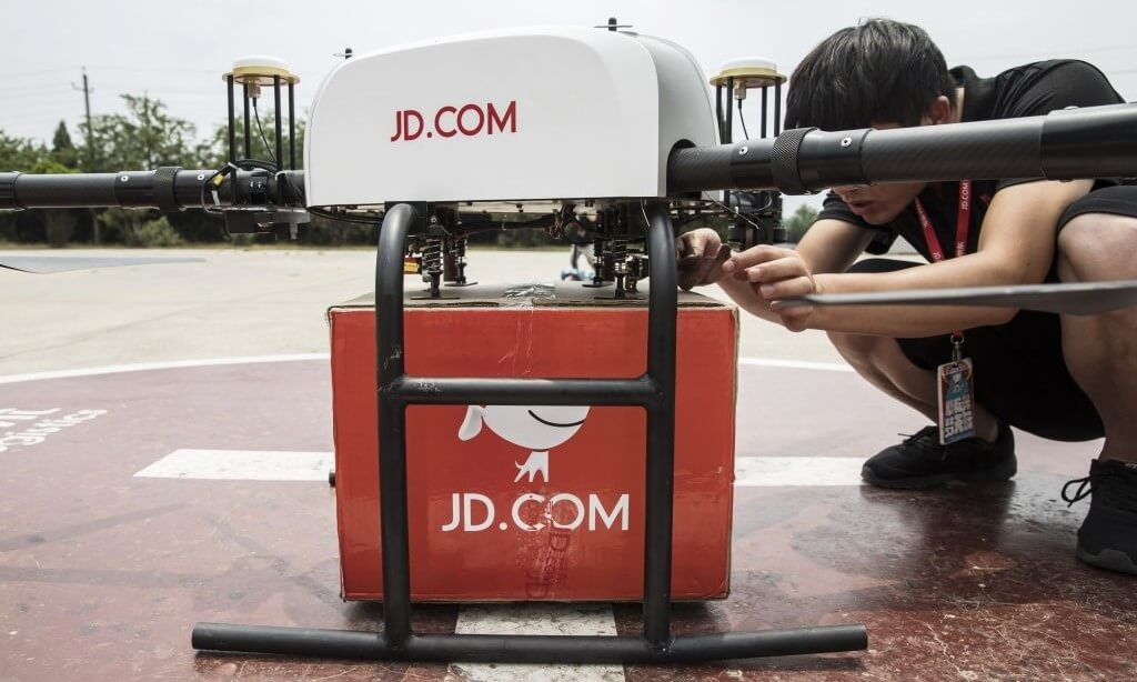 Beauty Brands In China Are Using Unmanned Delivery Vehicles To Guarantee Same-Day Delivery