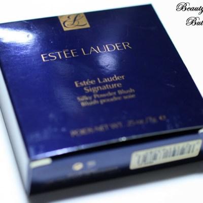 """[Review] Estée Lauder Signature Silky Powder Blush """"Peach Nuance"""""""