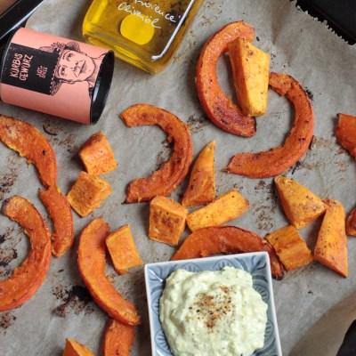 Herbstküche – #Resteverwertung mit Ofengemüse & Freestyle-Dip