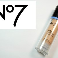 No7 Lift & Luminate Foundation Review + Swatches