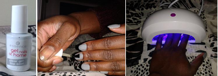 Farah Essence nails at home