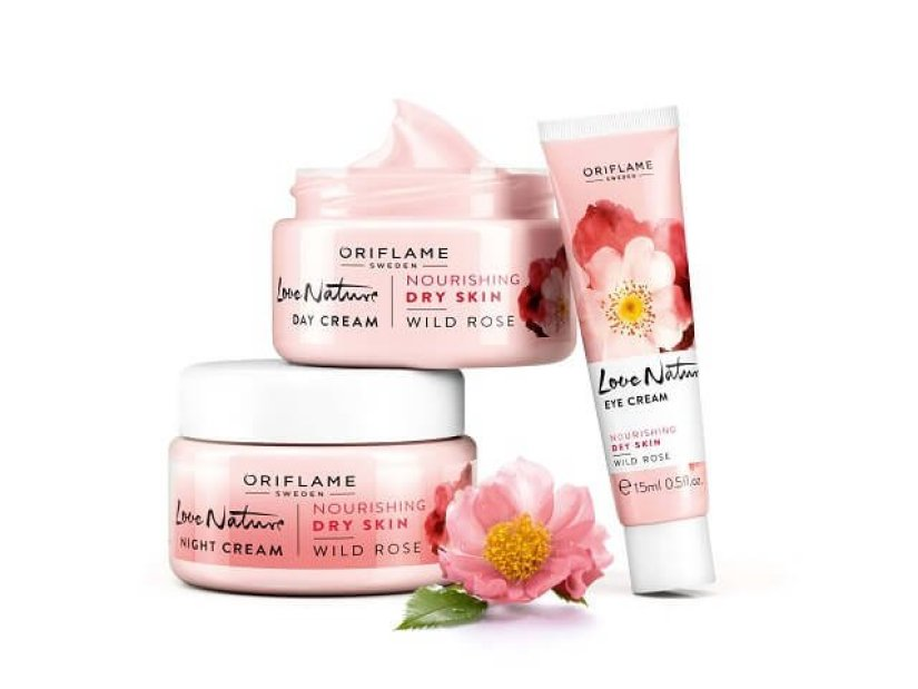 Oriflame Love Nature Wild Rose Collection