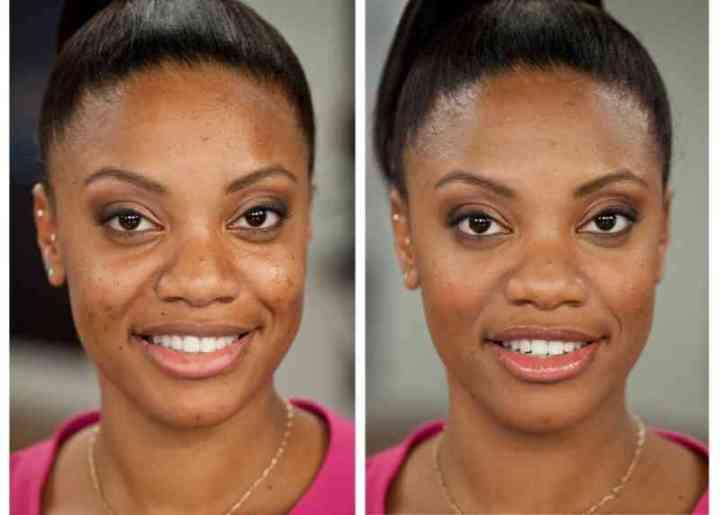 Colorescience make over woman dark oily acne fair skin