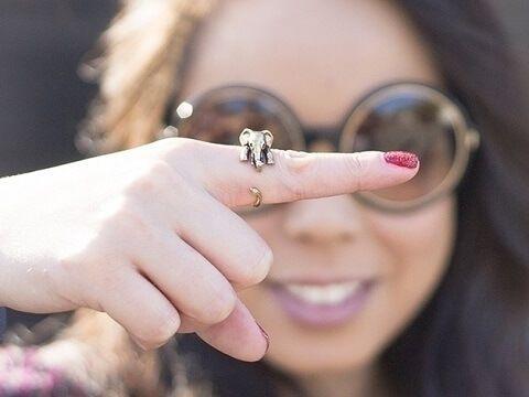 olifant ring verstelbaar