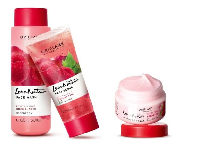 Oriflame Love Nature Raspberry lijn