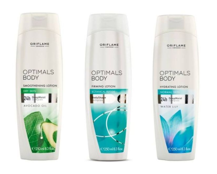 Oriflame Optimals Body Lotions