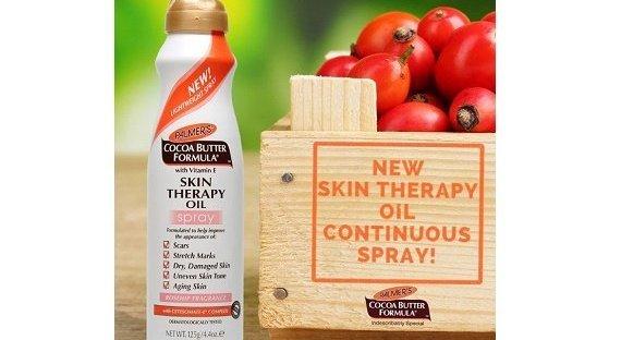 Palmer's Cocoa Butter Formula Skin Therapy Spray Oil sfeer