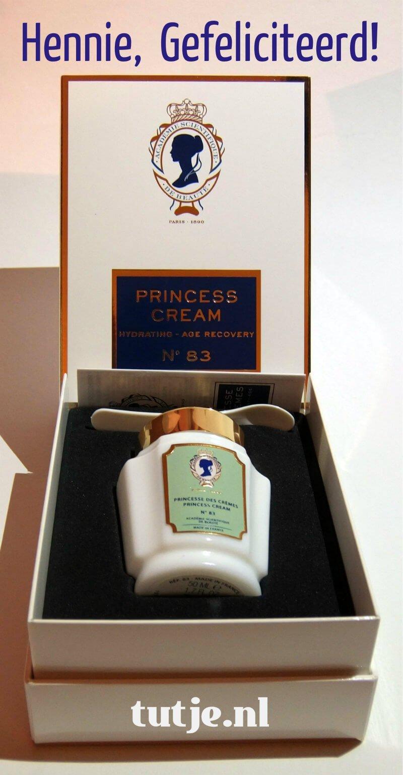 Princesse des Crème winnares