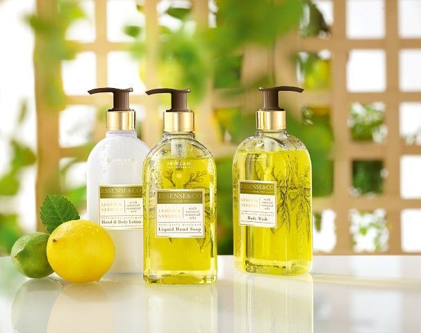 Essense & Co Lemon & Verbena complete set