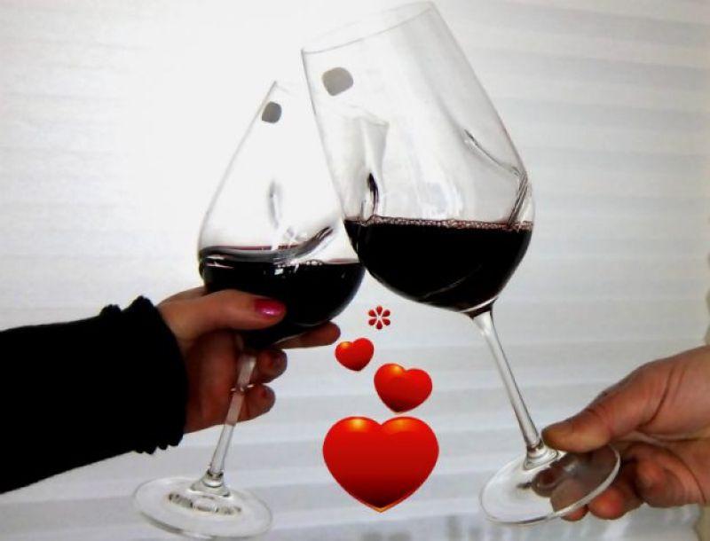 valentijn wijnglazen