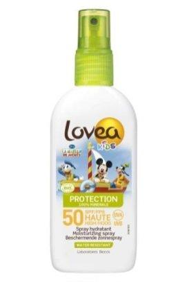 LOVEA KIDS -Spray SPF 50-HIGH PROTECTION - Organic - 100ml - Mickey