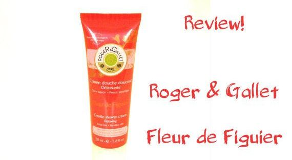 Roger & Gallet shower cream