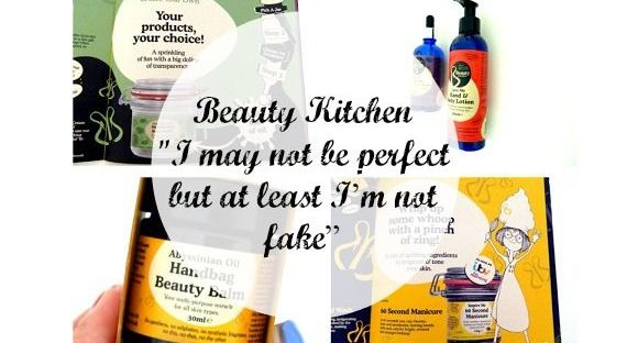collage beauty kitchen