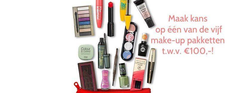 Kruidvat- Maak kans op één van de vijf make-up pakketten t.w.v. €100,-! 59 kruidvat Kruidvat- Maak kans op één van de vijf make-up pakketten t.w.v. €100,-! Win!