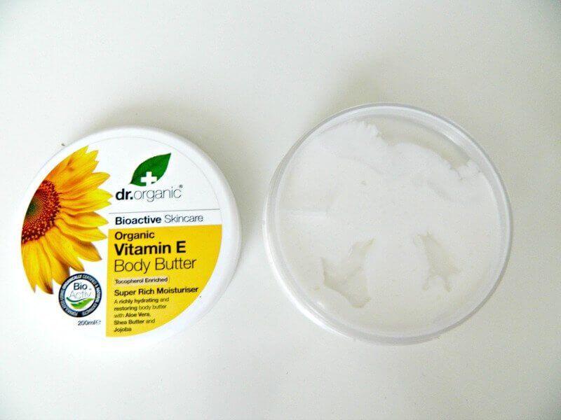 dr organic vitamine e body butter