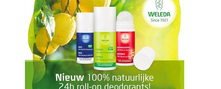 24 uur lang fris en fruitig met de 100% natuurlijke roll-on deodorants van Weleda 19 weleda 24 uur lang fris en fruitig met de 100% natuurlijke roll-on deodorants van Weleda Weleda