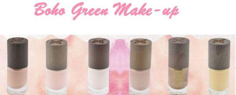 Boho Green Make-up-u