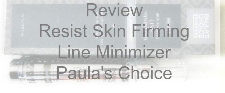 Resist Skin Firming Line Minimizer Paula's Choice 1