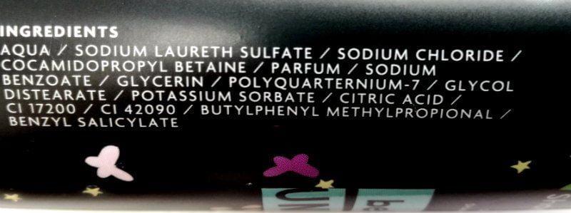 ingredienten shampoo