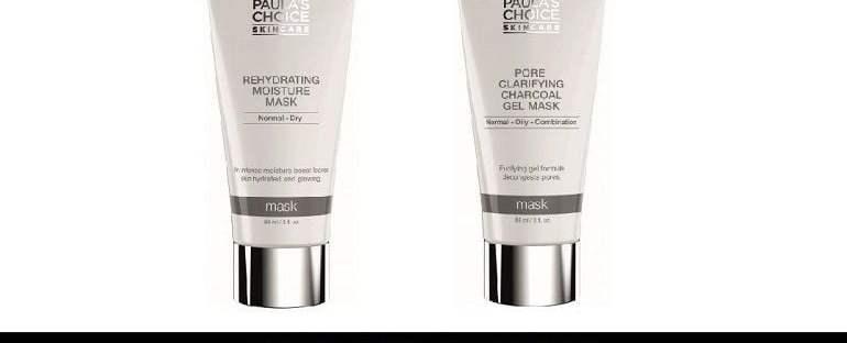 Paulas Choice moisture and charcoal masks u