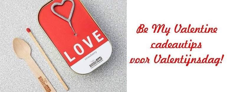 Be My Valentine- cadeautips voor Valentijnsdag! 7 valentine Be My Valentine- cadeautips voor Valentijnsdag! Radbag
