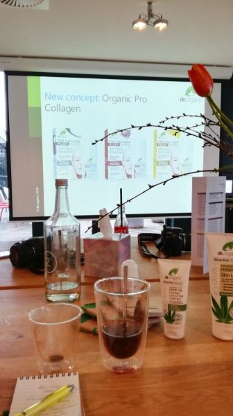 dr organic rooftop event
