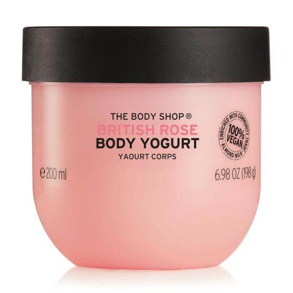 The Body Shop Body Yoghurt Britsh Rose 2