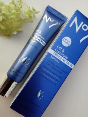 No7 Lift & Luminate Triple Action serum 30ml 31.99