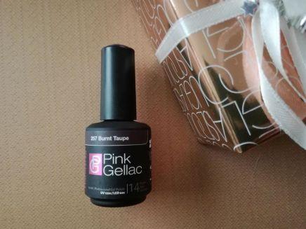 Pink Gellac burnt taupe