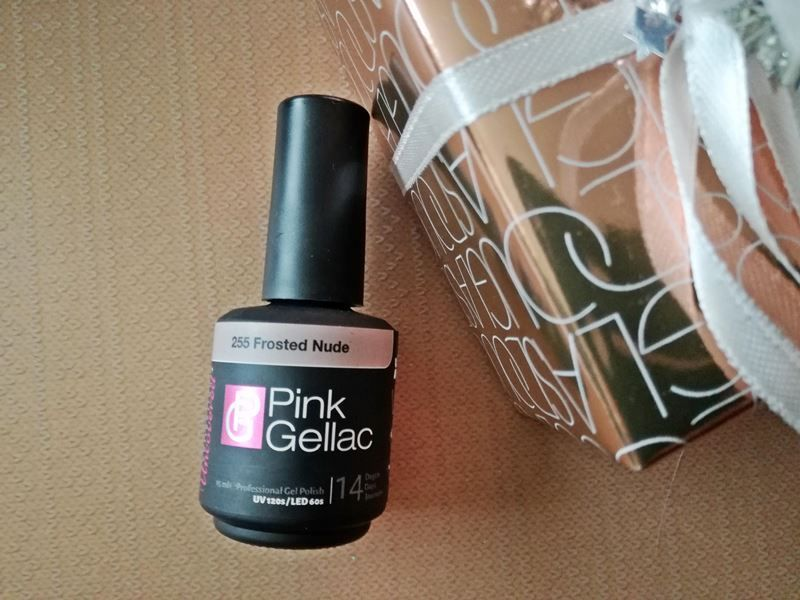 Pink Gellac frosted nude (2)