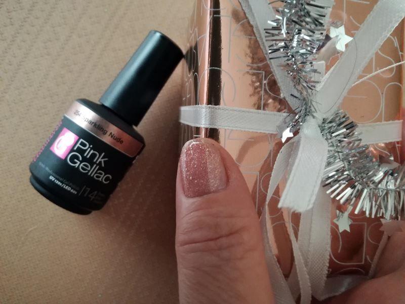 Pink Gellac sparkling nude