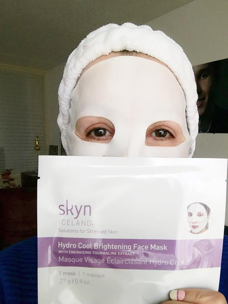 Hydro Cool Brightening Face Mask Skyn Iceland- Review 19 skyn iceland Hydro Cool Brightening Face Mask Skyn Iceland- Review