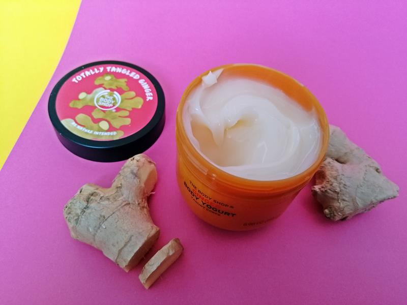 The Body Shop- Special Edition Ginger Shower Gel, Scrub & Body Butter (en Carrot Cream) 20 special edition the body shop The Body Shop- Special Edition Ginger Shower Gel, Scrub & Body Butter (en Carrot Cream)