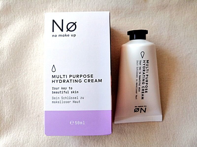 Nø Make Up hydrating cream