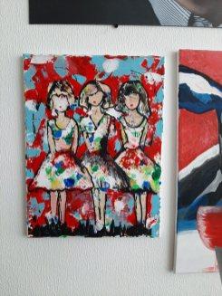 schilderij dames