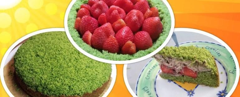 Zin in een Groene Taart met Aardbeien? 9 spinazietaart Zin in een Groene Taart met Aardbeien?