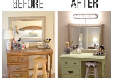 Makeup Vanity Table With Lights